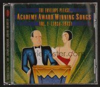8s100 ACADEMY AWARD WINNING SONGS VOL. 1 compilation CD '96 Fred Astaire & Dick Powell!