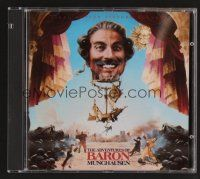 8s101 ADVENTURES OF BARON MUNCHAUSEN soundtrack CD '90 original score by Michael Kamen!