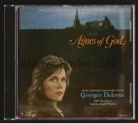 8s105 AGNES OF GOD soundtrack CD '85 Norman Jewison, original score by Georges Delerue!