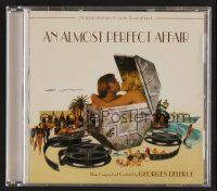 8s108 ALMOST PERFECT AFFAIR soundtrack CD '06 original score by Georges Delerue, limited edition!