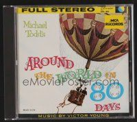 8s113 AROUND THE WORLD IN 80 DAYS soundtrack CD '90 original score by Victor Young!