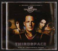 8s116 BABYLON 5: THIRDSPACE TV soundtrack CD '99 original score by Christopher Franke!