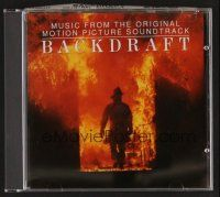 8s117 BACKDRAFT soundtrack CD '91 Ron Howard, original score by Hans Zimmer and Jay Rifkin!
