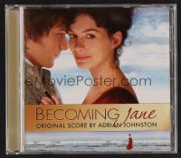 8s123 BECOMING JANE soundtrack CD '07 original score produced by Adrian Johnston!