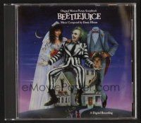 8s124 BEETLEJUICE soundtrack CD '88 Tim Burton, original score by Danny Elfman!