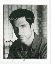 9a055 DYLAN MCDERMOTT signed 8x10 REPRO still '00s head & shoulders portrait of the actor!