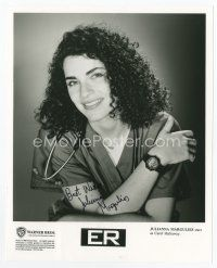 9a070 JULIANNA MARGULIES signed 8x10 REPRO still '00s portrait as Carol Hathaway from TV's ER!