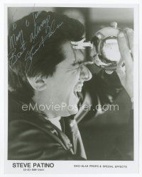 9a087 STEVE PATINO signed 8x10 REPRO still '90s gruesome pose with his killer ball from Phantasm!