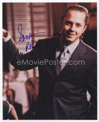 9a060 GIOVANNI RIBISI signed color 8x10 REPRO still '01 close up smiling portrait in suit & tie!