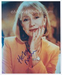 9a061 HELEN MIRREN signed color 8x10 REPRO still '02 great close up of the English actress!
