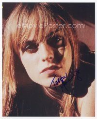 9a090 TARYN MANNING signed color 8x10 REPRO still '03 super c/u of the actress/fashion designer!
