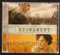 9a101 ATONEMENT soundtrack CD '07 original score by Dario Marianelli & Jean-Yves Thibaudet!