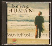 9a102 BEING HUMAN soundtrack CD '94 original score by Michael Gibbs!