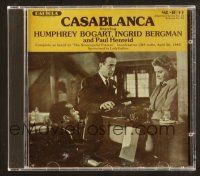 9a106 CASABLANCA compilation CD '90s as heard on The Screenguild Players CBS radio show in 1943!