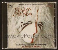 9a110 CLAN OF THE CAVE BEAR soundtrack CD '93 Daryl Hannah, original score by Alan Silvestri!