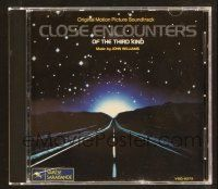 9a111 CLOSE ENCOUNTERS OF THE THIRD KIND soundtrack CD '90 original score by John Williams!