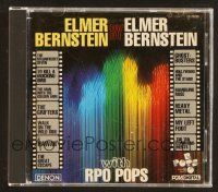 9a117 ELMER BERNSTEIN compilation CD '95 music from Magnificent Seven, To Kill a Mockingbird +more!