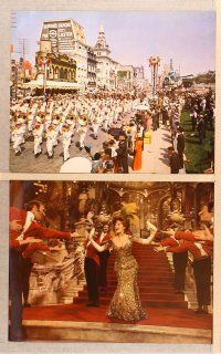 9c019 HELLO DOLLY 12 Eng/Italy LCs '70 Barbra Streisand & Walter Matthau, Louis Armstrong!