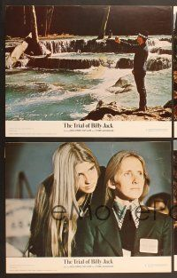 9c038 TRIAL OF BILLY JACK 10 color 11x14 stills '75 Tom Laughlin as Billy Jack, Delores Taylor!