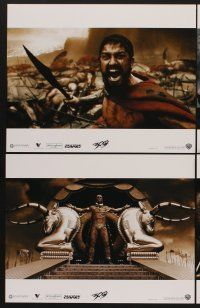 9c056 300 8 LCs '06 Zack Snyder directed, Gerard Butler, prepare for glory, this is Sparta!