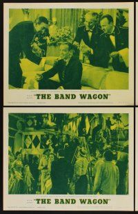 9c073 BAND WAGON 8 LCs R63 Fred Astaire & sexy Cyd Charisse, Oscar Levant, Nanette Fabray!