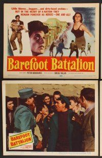 9c075 BAREFOOT BATTALION 8 LCs '56 Greek thieves, beggars, and urchins remain the heroes!