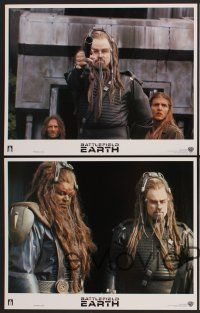 9c078 BATTLEFIELD EARTH 8 LCs '00 from L. Ron Hubbard's novel, John Travolta, Forest Whitaker!