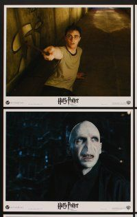 9c030 HARRY POTTER & THE ORDER OF THE PHOENIX 10 LCs '07 Ralph Fiennes, Daniel Radcliffe!