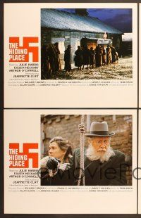 9c031 HIDING PLACE 10 LCs '75 Julie Harris, World War II concentration camp true story!