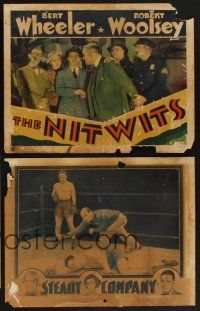 9c010 LOT OF 17 'FOUND IN A BARN' LOBBY CARDS 17 LCs '30s Arrowsmith, Eddie Cantor, Jack Holt!