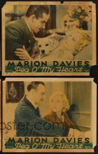 9c001 LOT OF 4 'FOUND IN A BARN' MARION DAVIES LOBBY CARDS 4 LCs '30s Blondie of the Follies & more!