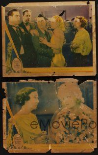 9c003 LOT OF 5 'FOUND IN A BARN' CAROLE LOMBARD LOBBY CARDS 5 LCs '30s The Gay Bride & No One Man!