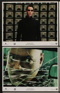 9c033 MATRIX RELOADED 10 LCs '03 Keanu Reeves, Carrie-Anne Moss, Laurence Fishburne