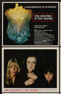 9c054 WATCHER IN THE WOODS 9 LCs '80 Disney, it was just game until a girl vanished for 30 years!