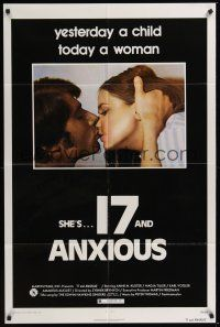 9e019 17 & ANXIOUS 1sh '73 Zybnek Brynych, Anne-Marie Kuster, Nadja Tiller, today a woman!