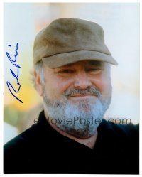 9g104 ROB REINER signed color 8x10 REPRO still '01 head & shoulders portrait of the director!