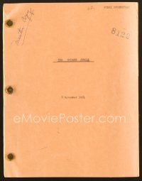 9g259 SQUARE JUNGLE final script November 8, 1954 screenplay by George Zuckerman!