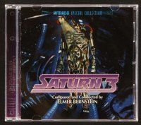 9g159 SATURN 3 soundtrack CD '06 Stanley Donen, original score by Elmer Bernstein!