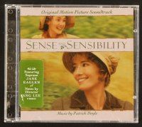 9g160 SENSE & SENSIBILITY soundtrack CD '95 original score by Patrick Doyle and Jane Eaglen!