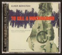 9g162 TO KILL A MOCKINGBIRD soundtrack CD '97 original score by Elmer Bernstein!
