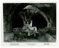 9j205 DRACULA 8x10 still R51 Tod Browning, vampire Bela Lugosi holding Helen Chandler in castle!