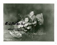 9k078 KEVIN MCCARTHY signed 8x10 REPRO still '80s with Wynter from Invasion of the Body Snatchers!