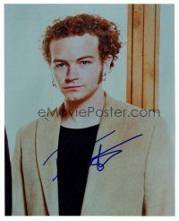 9k062 DANNY MASTERSON signed color 8x10 REPRO still '02 great close portrait wearing suit jacket!