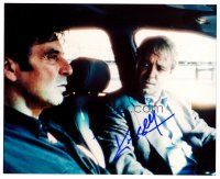 9k094 RUSSELL CROWE signed color 8x10 REPRO still '02 in car with Al Pacino from The Insider!