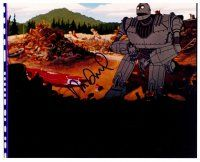 9k100 VIN DIESEL signed color 8x10 REPRO still '00s he did the voice of the Iron Giant!