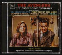 9k107 AVENGERS compilation CD '95 original score by Laurie Johnson & the London Studio Orchestra!