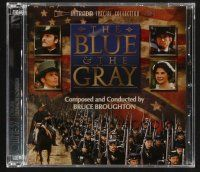 9k111 BLUE & THE GRAY TV soundtrack CD '08 Intrada Special Collection 57, music by Bruce Broughton!