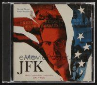 9k125 JFK soundtrack CD '92 Oliver Stone, original score composed & conducted by John Williams!