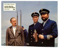 9r073 JAMES MASON signed German LC '55 as Captain Nemo from 20,000 Leagues Under the Sea!
