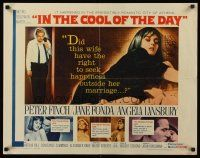 9r035 IN THE COOL OF THE DAY signed 1/2sh '63 by Jane Fonda, she gave all her love to a stranger!